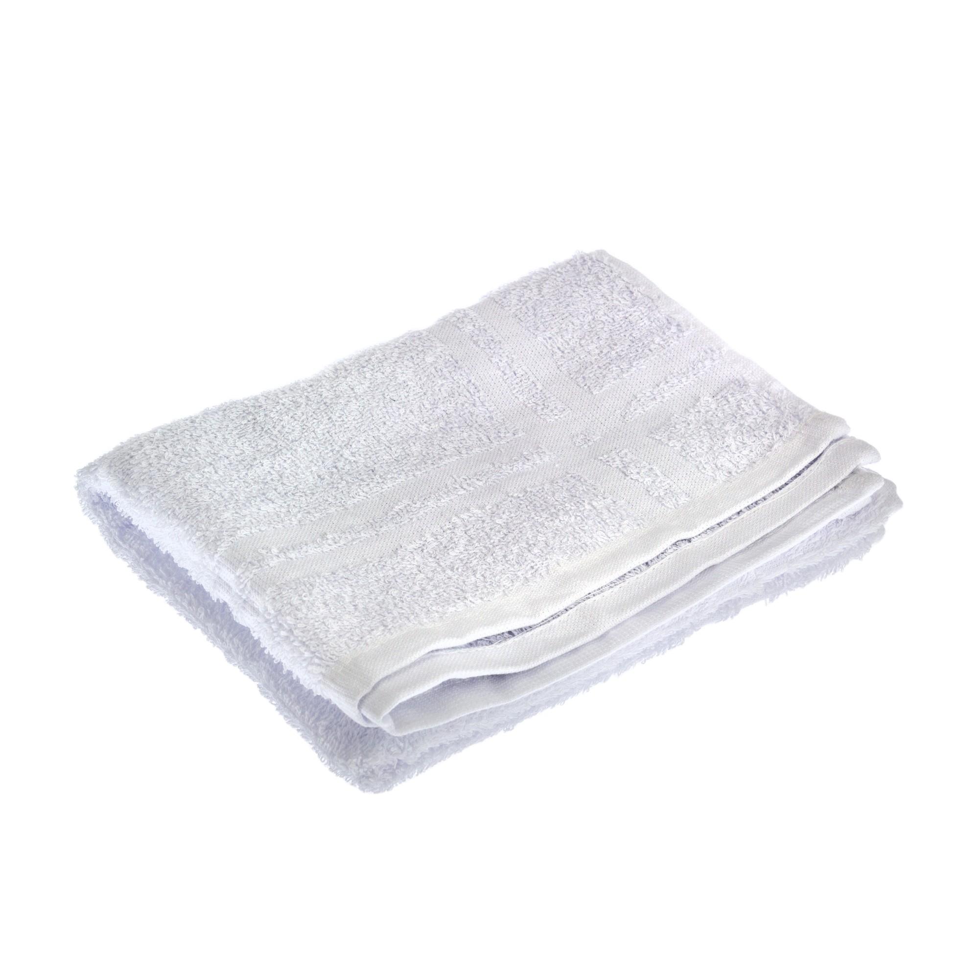 Toalha de Piso Branca Felpuda 42x68 cm 100 Algodao - Marcotex
