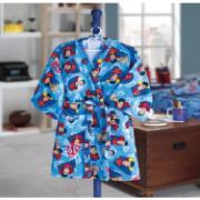 Roupão de Banho 100% algodão Infantil Superman P com Cinto - Dohler