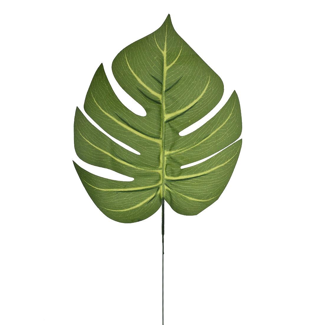 Haste Artificial Costela de Adao 60cm Verde - GPresentes