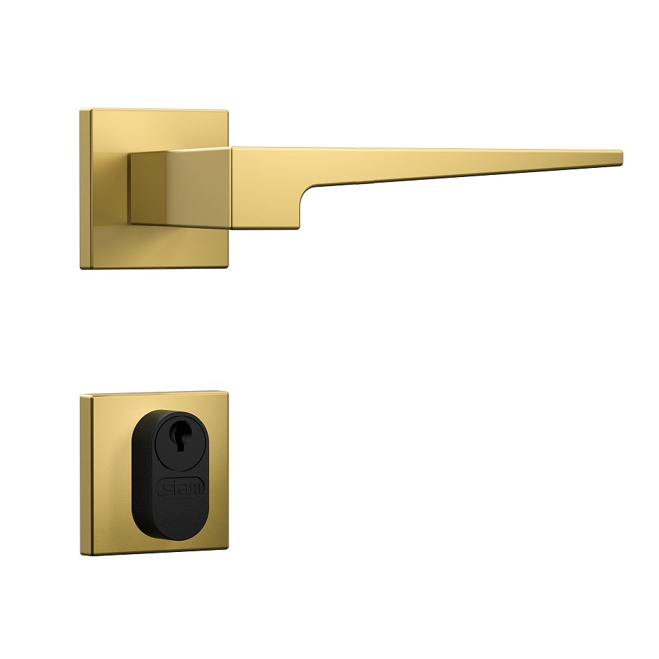 Fechadura Externa 40 mm Zamac Dourado Residencial 41212 - Stam