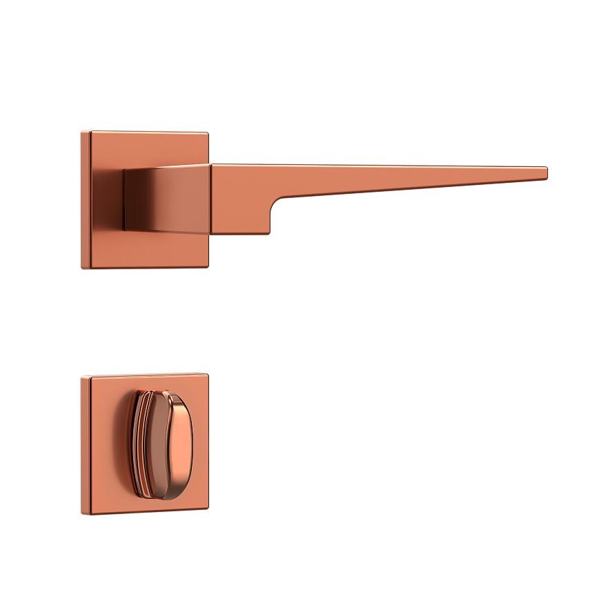 Fechadura Banheiro 40 mm Zamac Rose Residencial 41114 - Stam