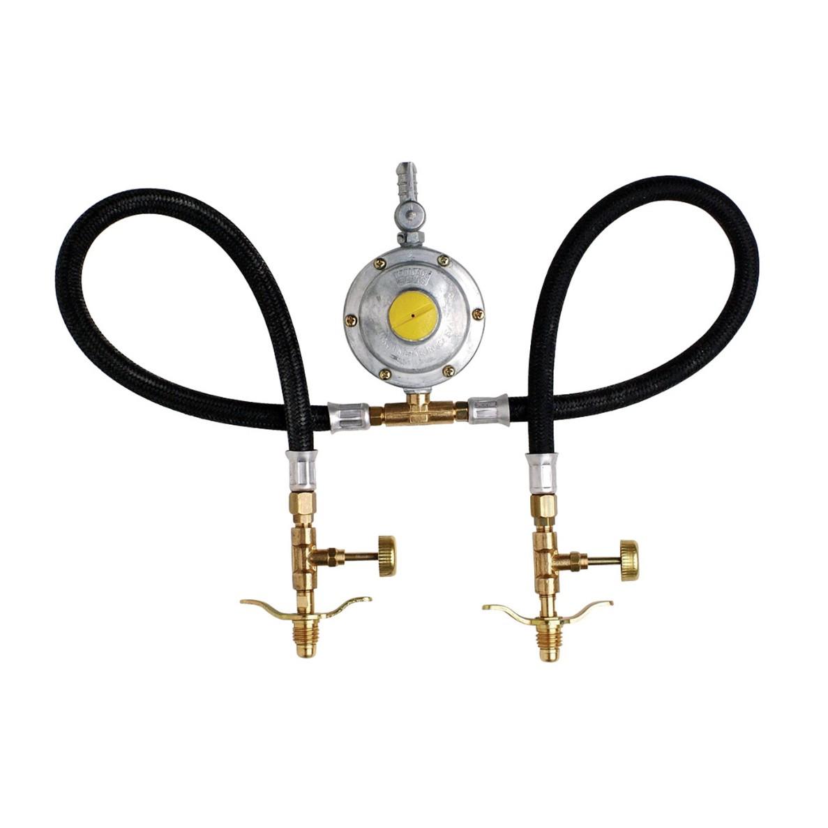 Regulador de Gas Domestico Duplo - 020808 - Jackwal