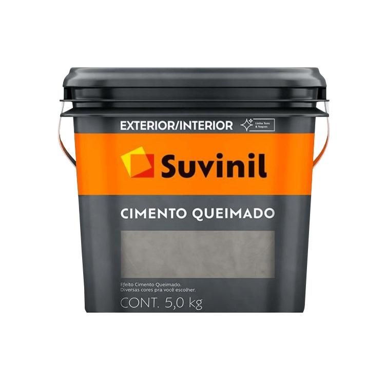 Textura Premium 50Kg - Tunel de Concreto - Cimento queimado - Suvinil