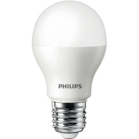 Lampada LED Bulbo A55 9W Luz Branca E27 Bivolt - Philips
