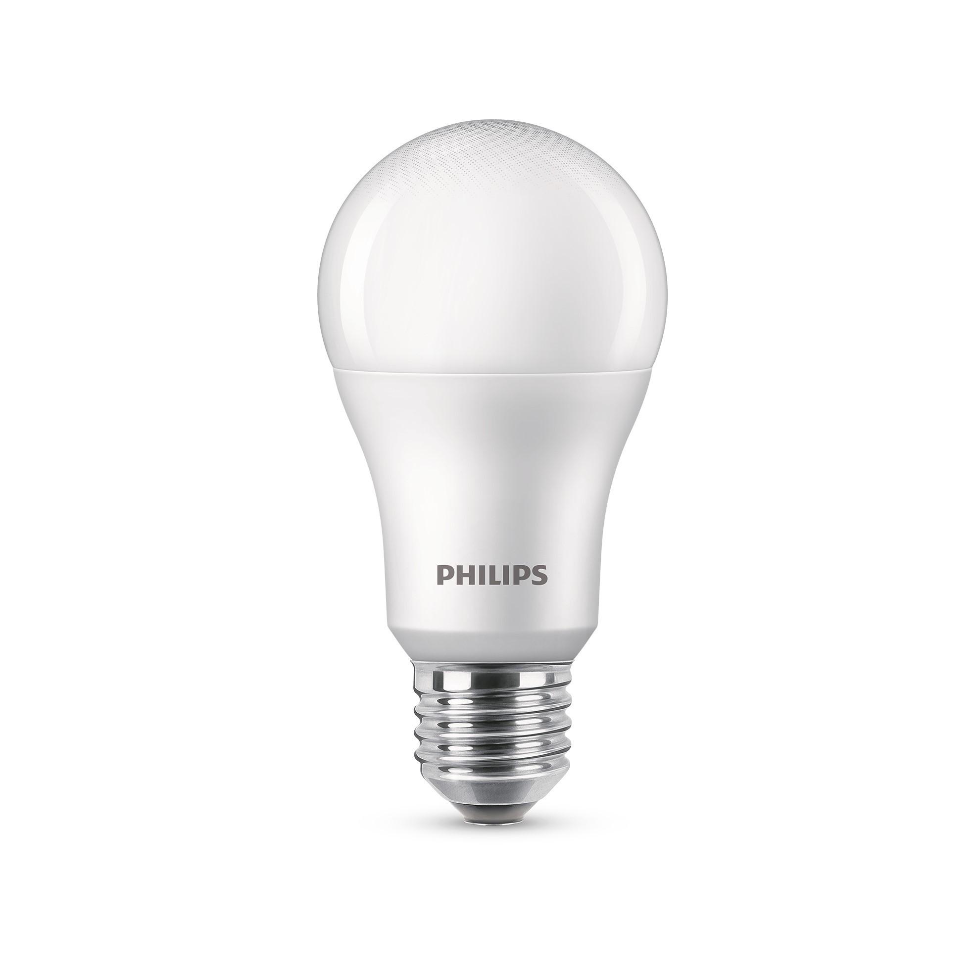 Lampada LED Philips Bulbo 11W Luz Branca E27 A65 Bivolt