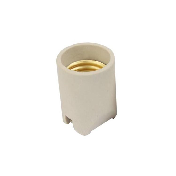 Porta Lampada Porcelana E27 4A - Germer