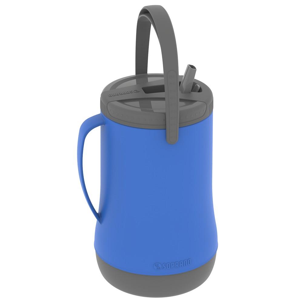 Botijao Termico 25L Azul - Soprano