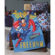 Toalha de Banho Superman 100% Algodão 70 x 115 cm - Dohler