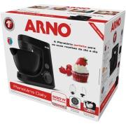 Batedeira Planetária Arno Daily 600w 220V Preta - 2720014192 - 8 Velocidades
