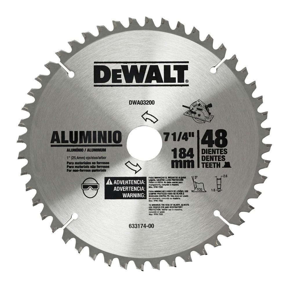 Disco Serra Circular 184x24x16mm 48 Dentes - DeWalt