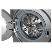 Lava e Seca Smart LG 11Kg Front Load VC4 Aço Escovado 127V - CV5011TS4