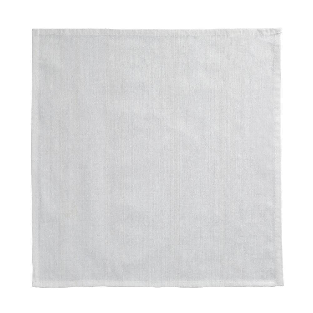 Guardanapo Liso 45x45 cm 100 Algodao Branco - Rafimex