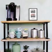 Quadro Decorativo 33x23 cm Café Para Mudar 69216 - Kapos