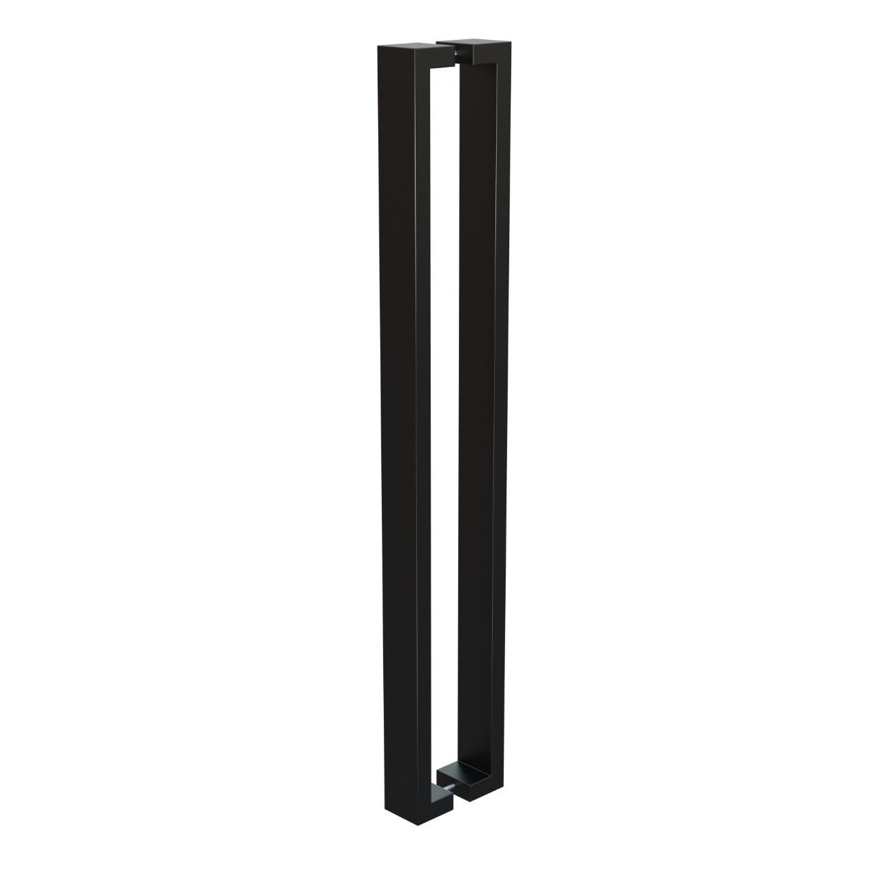 Puxador de Portas Sobrepor Aco Inox 101cm 1 par Leblon - Acobrasil