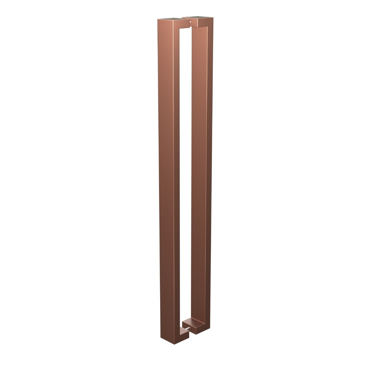 Puxador de Portas Sobrepor Aco Inox 101cm 1 par Leblon Bronze - Acobrasil