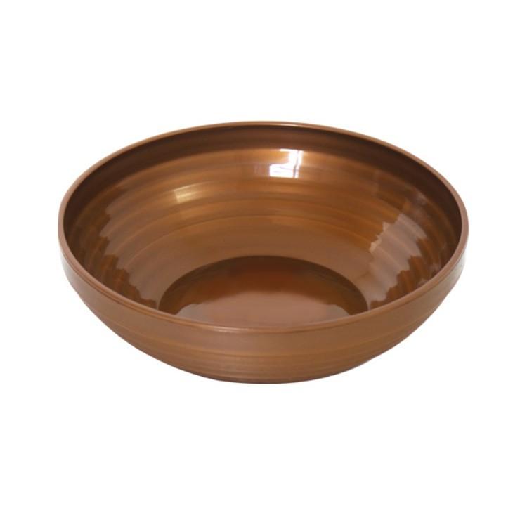 Tigela de Plastico Bronze 600ml - Zeek