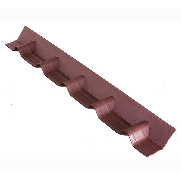 Cumeeira Rufo Fibra Vegetal 103x015cm Vermelho - Onduline