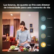 Lâmpada Smart Philips HUE LED Bulbo Inteligente 9W RGB E27 127V