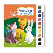 Livro Aquarela Animais de Estimação para Colorir - Ciranda Cultural