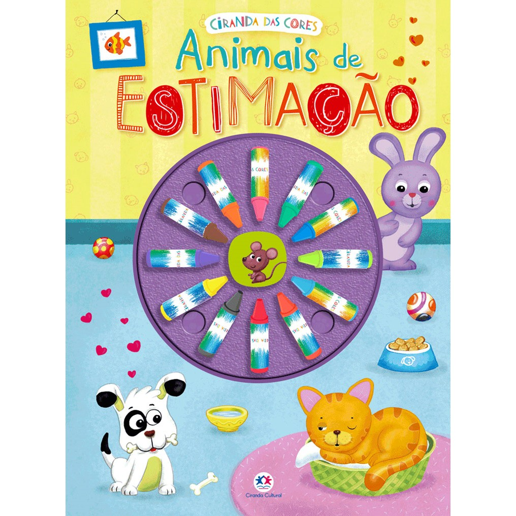 Livro Infantil Animais de Estimacao