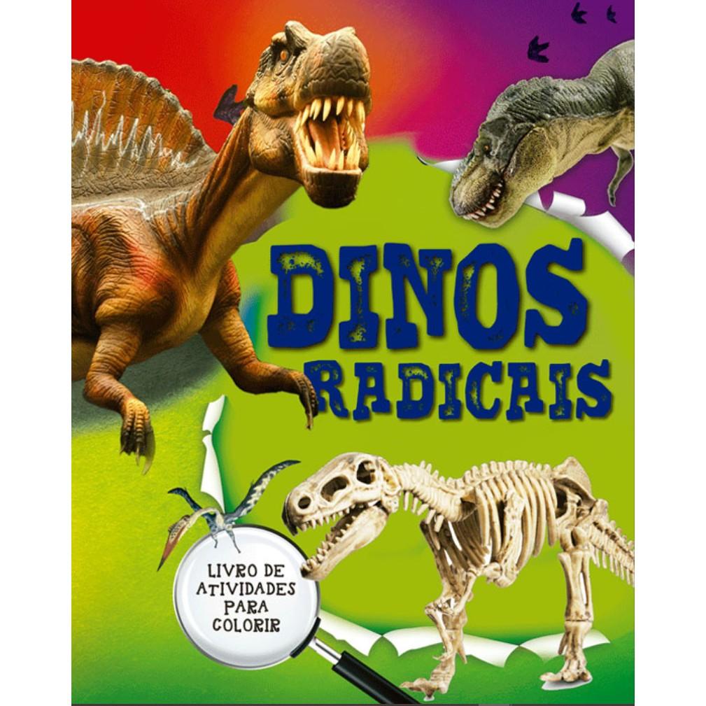 Livro Dinos Radicais Atividades para Colorir