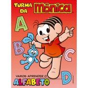 Livro Turma da Mônica Vamos Aprender o Alfabeto - Ciranda Cultural