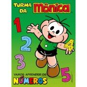 Livro Turma da Mônica Aprendendo os Números