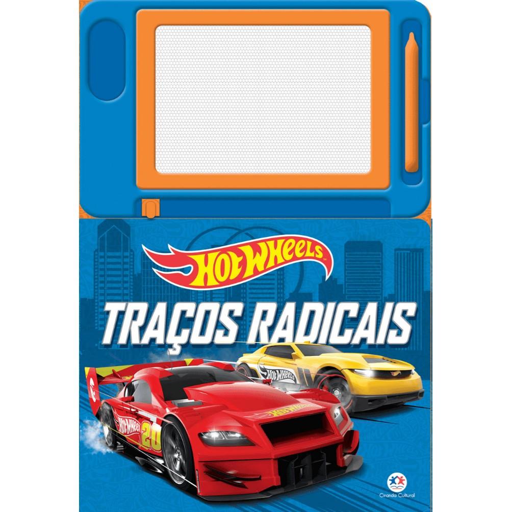 Livro Hotwheels Tracos Radicais