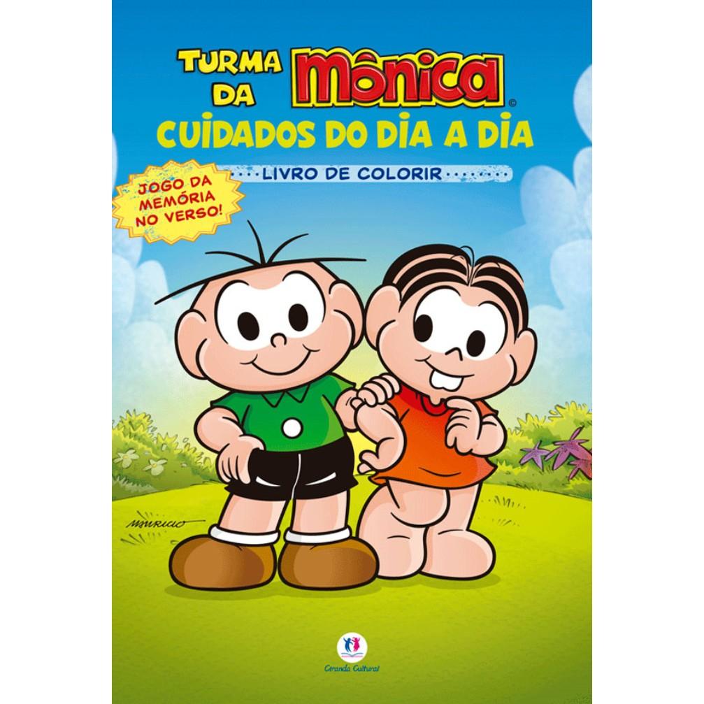 Livro de Colorir Turma da Monica - Ciranda Cultural