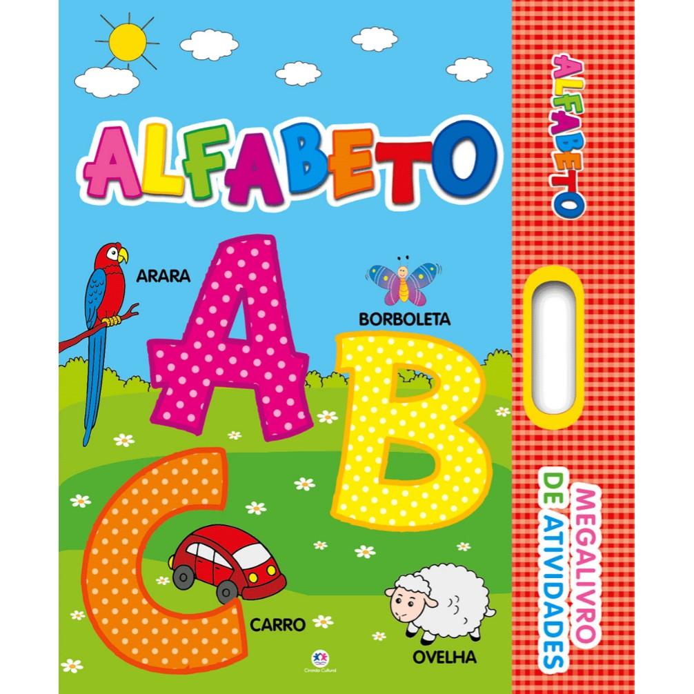 Livro Alfabeto de Atividades - Ciranda Cultural