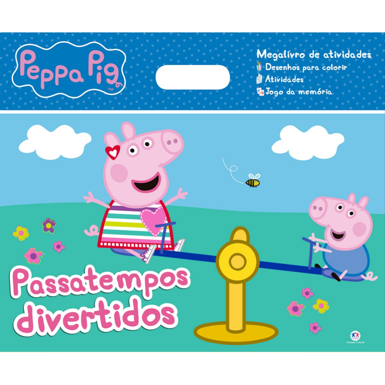 Livro Peppa Pig Passatempos Divertidos