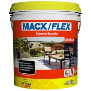 Rejunte Flexível Macx Multiuso Grafite Balde/4kg - MacX/Cola