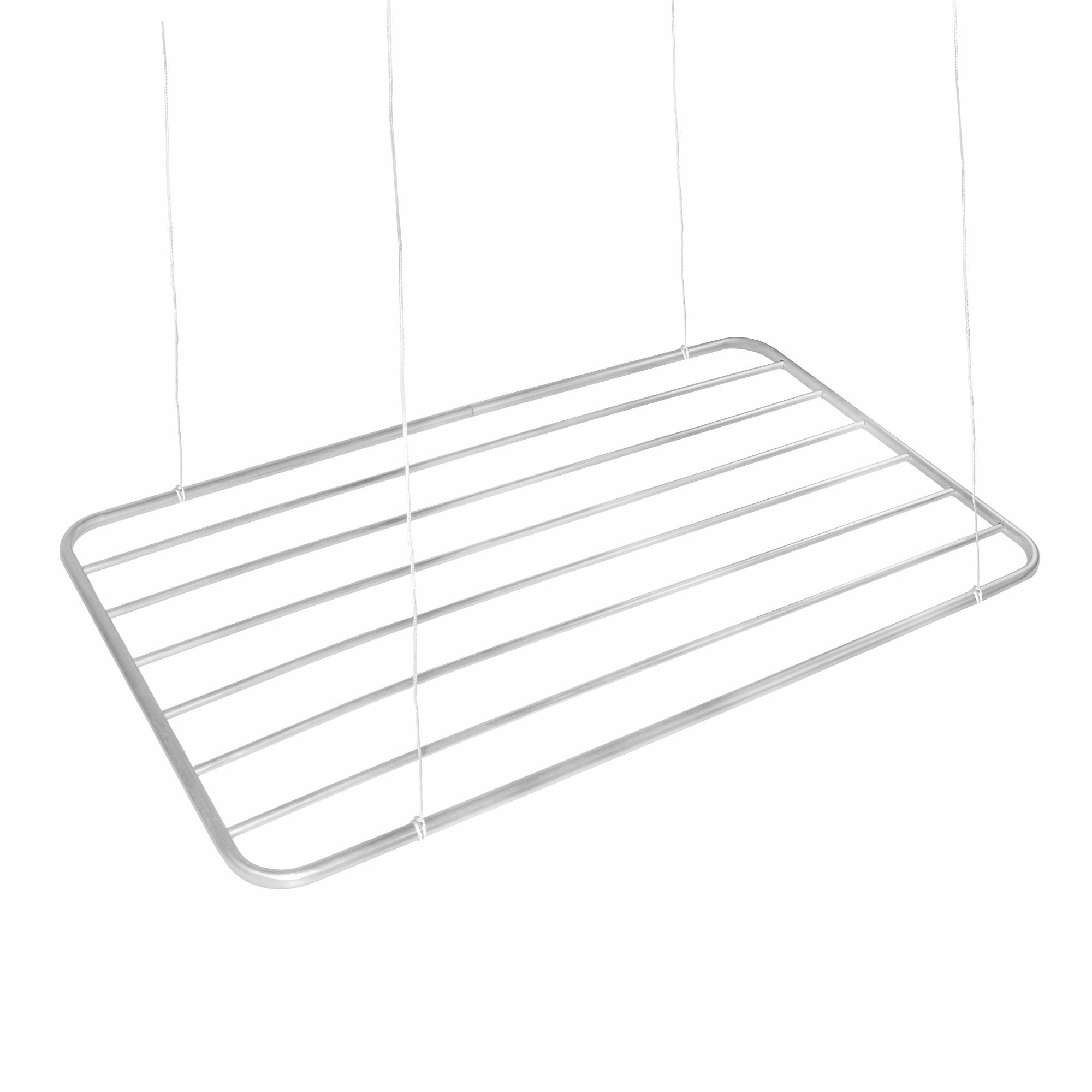 Varal de Teto Aluminio 56X120cm VT2 - SoVarais