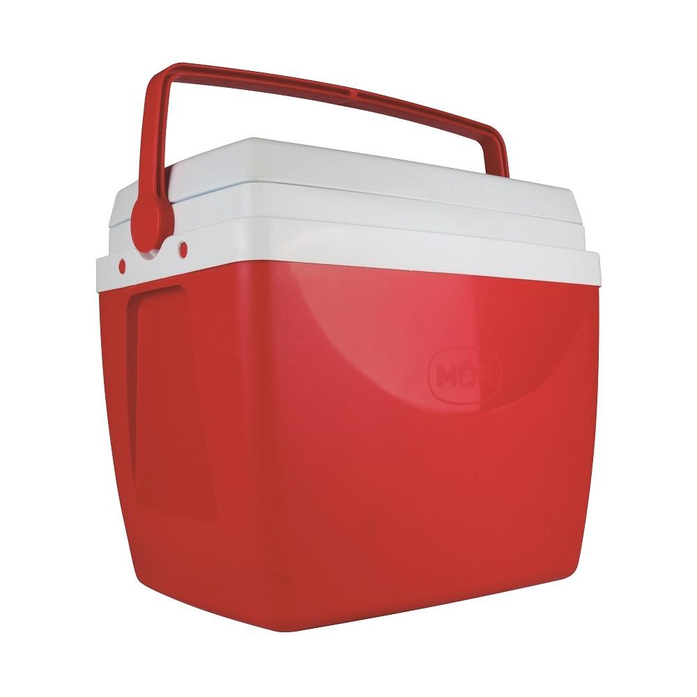 Caixa Termica 34L Polipropileno Vermelho - Mor Met