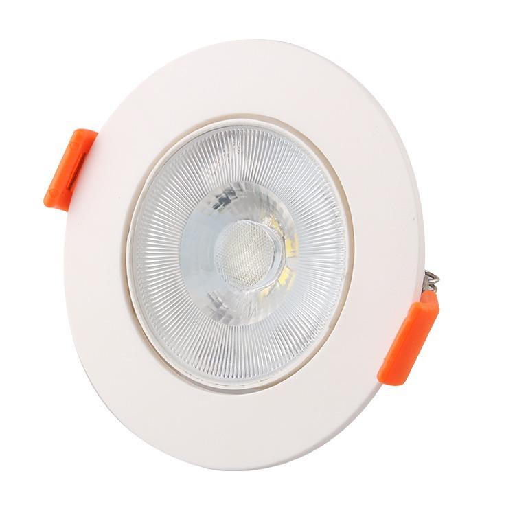 Spot LED de Embutir Plastico Redondo 3W 110-240V Luz Amarela - Ecoline Tech