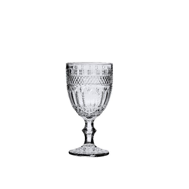 Jogo de Tacas de Vidro 360ml 6 Pecas Transparente - Ricaelle