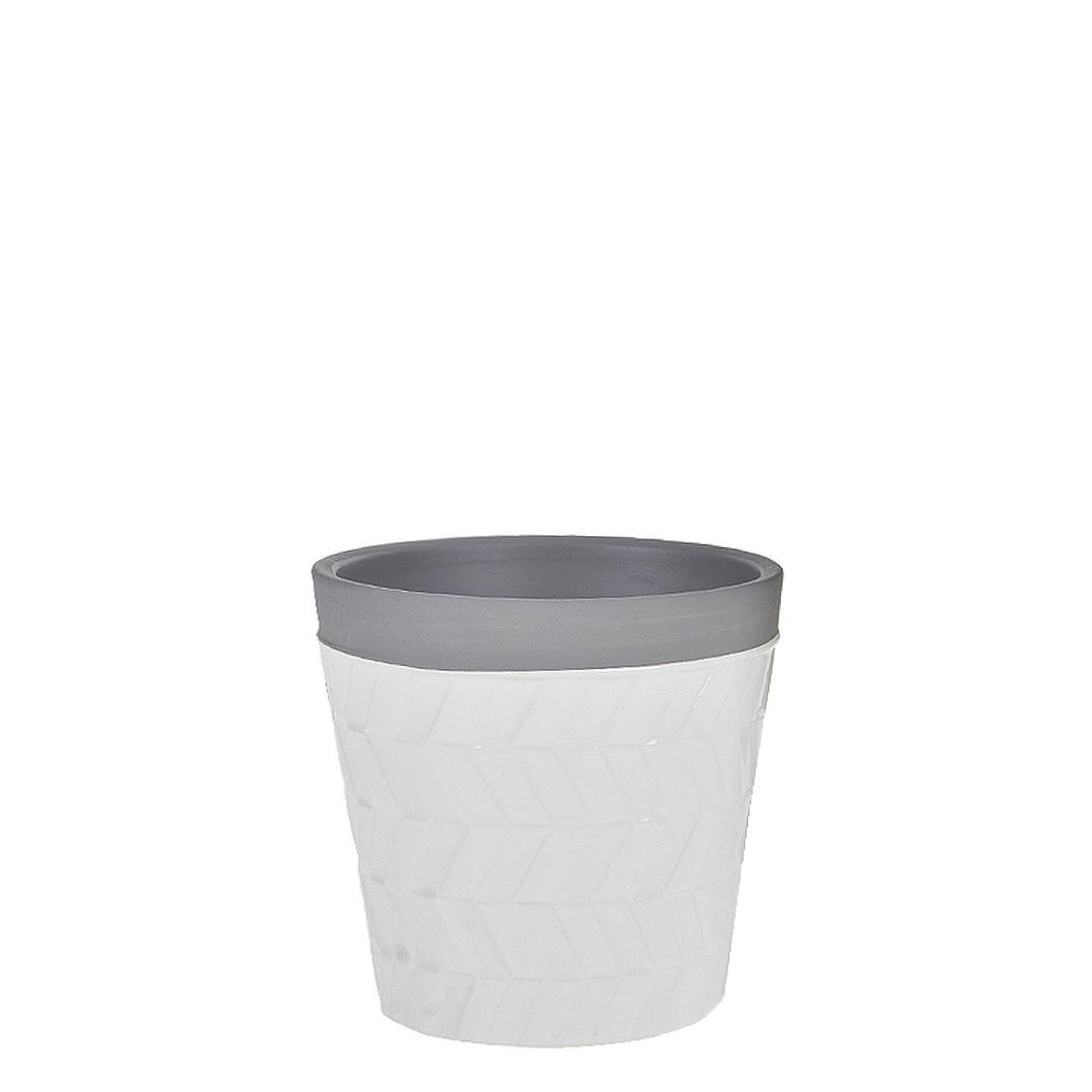 Vaso Decorativo Ceramica 10cm Redondo - GPresentes
