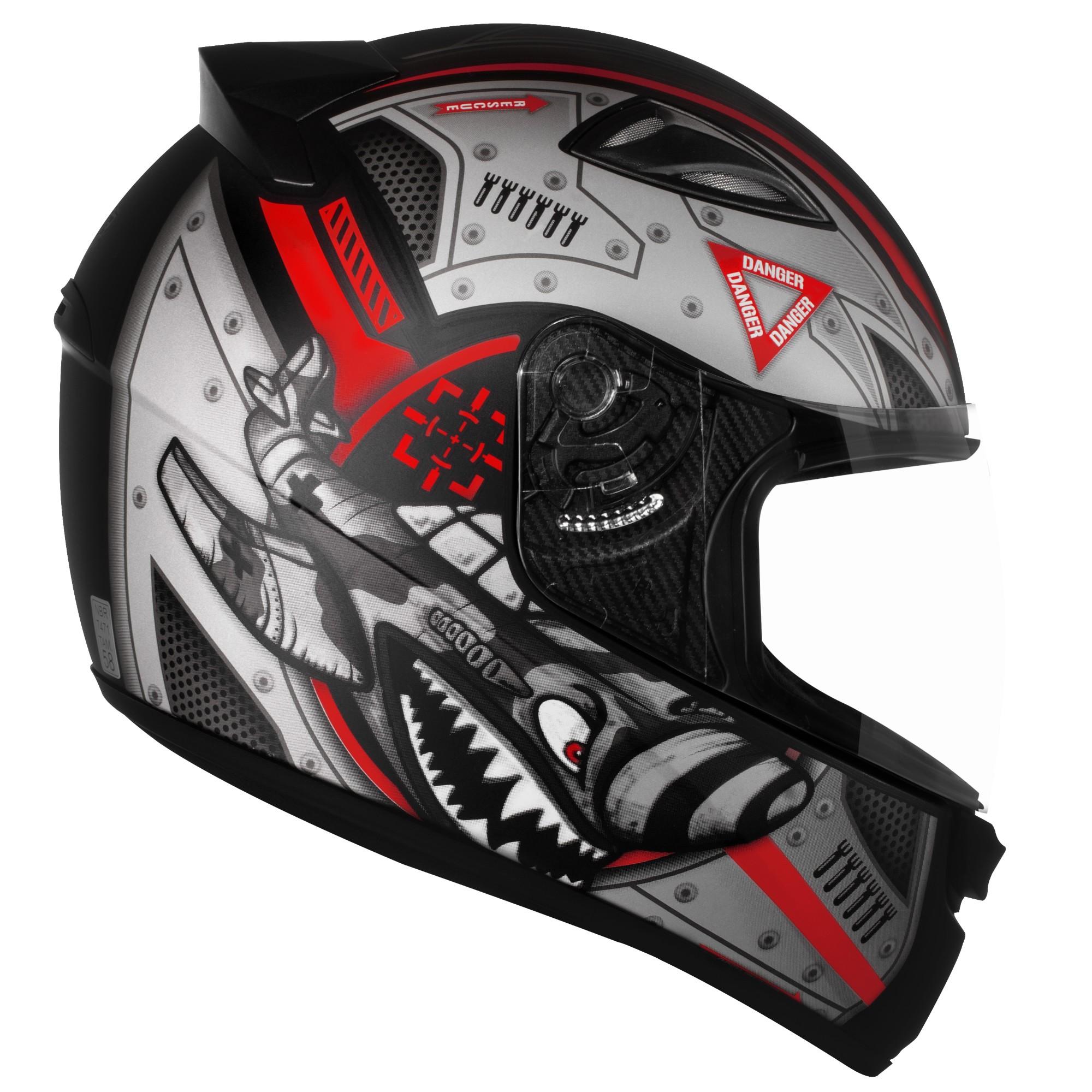 Capacete para Motociclista Integral M M Ebf Capacetes - 6058