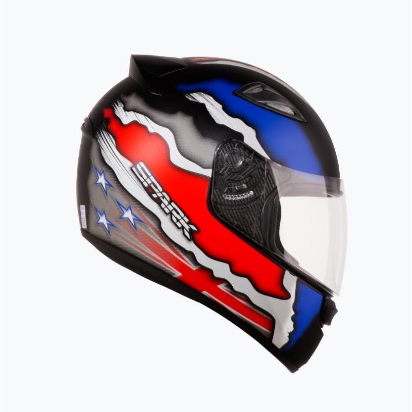 Capacete para Motociclista Integral G L Ebf Capacetes - PTFO 60