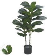 Planta Artificial Ficus Verde 1,0m - Dea