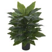 Planta Artificial Real Toque 80cm Asplênio Verde - Dea Natal