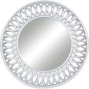 Espelho Decorativo Redondo 49,5 x 49,5 cm Prata - Jolie