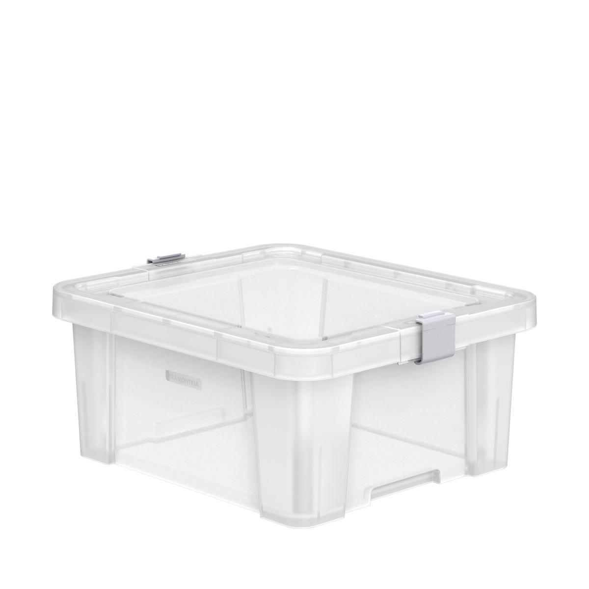 Caixa Organizadora Tramontina Retangular 170L Transparente - 92550711
