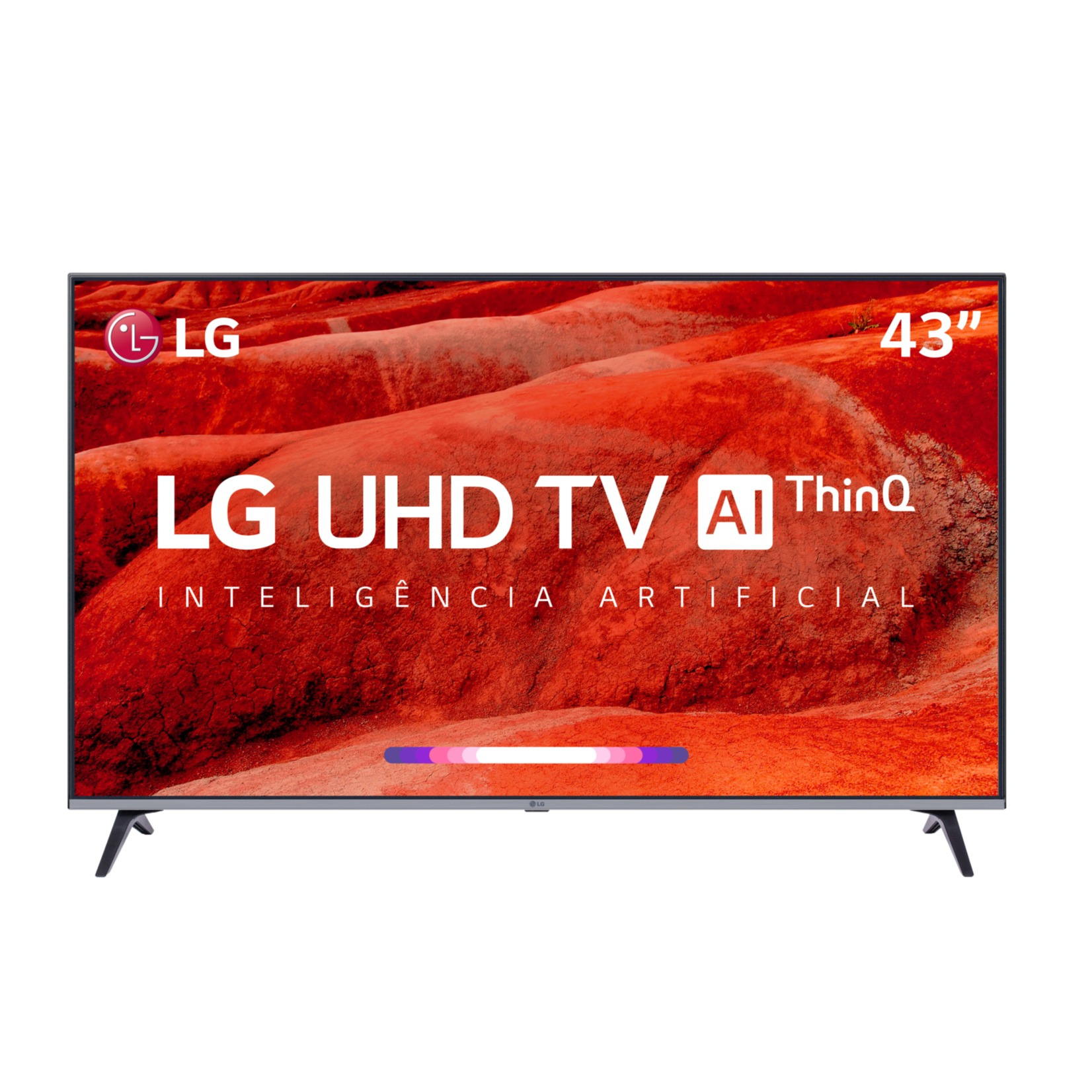 Smart TV LED 43 LG Eletro 4KUltra HD 43UM7510 - Wi-Fi 4 HDMI 2 USB