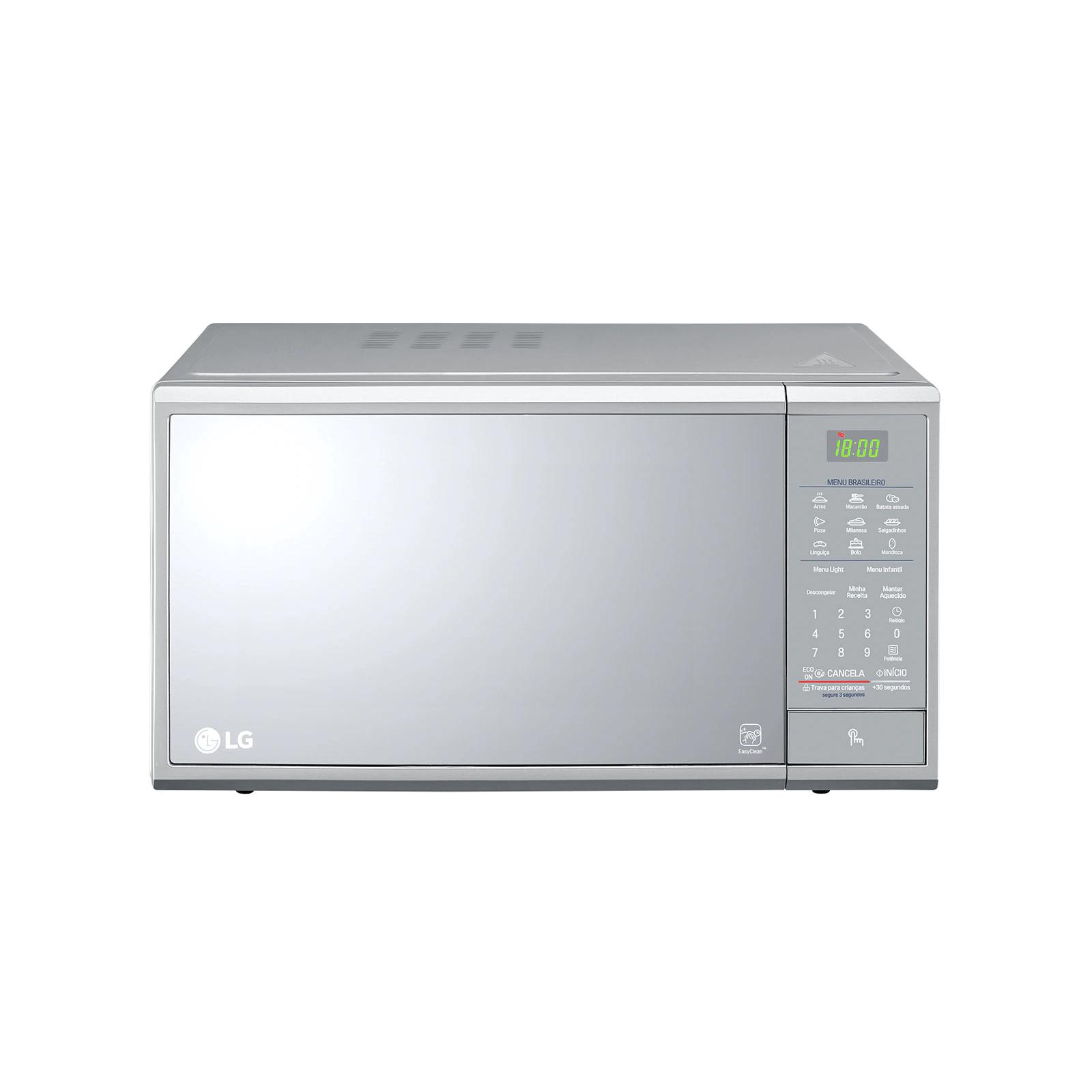 Forno Micro-ondas 30L 800W Prata 220V - MS3095 - LG