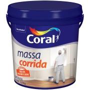 Massa Corrida PVA Galão 3,6L Branca - Coral