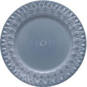 Sousplat Redondo Plástico 36cm Azul - Jonico