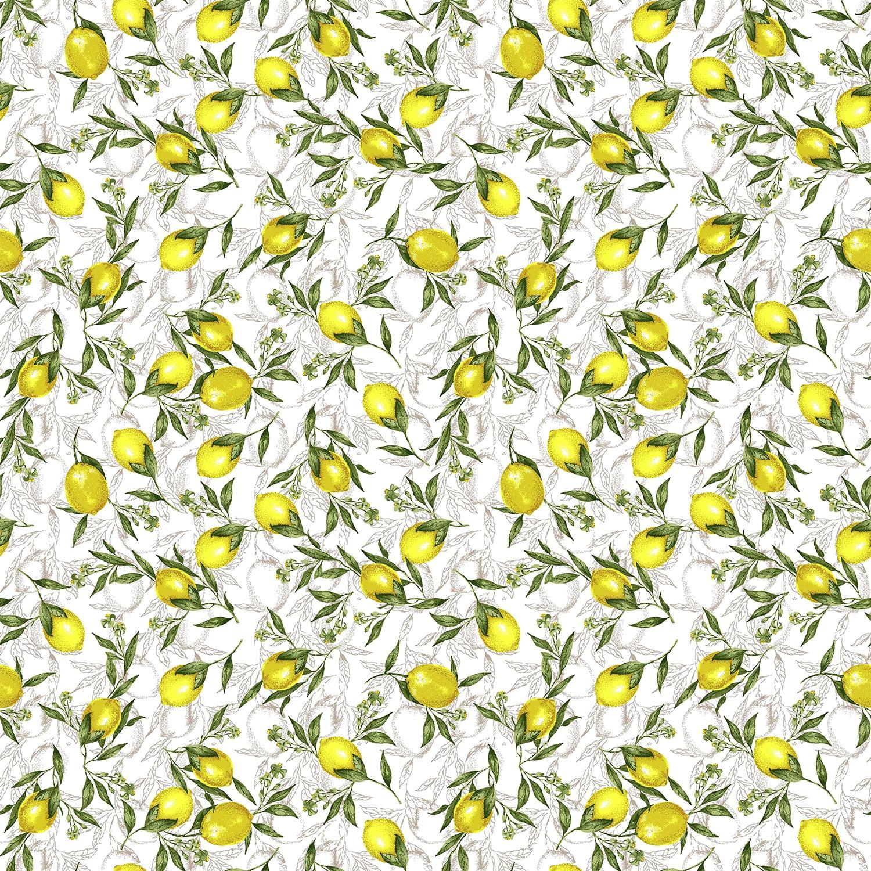 Guardanapo Home Siciliano 40x40cm 4 Pecas Amarelo - CopaCia