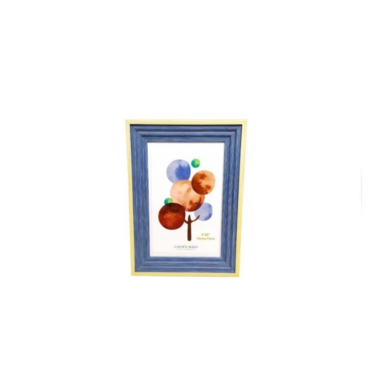 Porta Retrato Unifoto 10x15 cm Azul Claro PR062 - Casa Ambiente