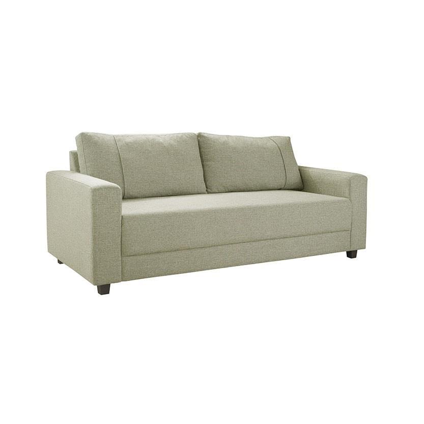 Sofa 3 Lugares 87x85x200cm Linho Bege - Herval